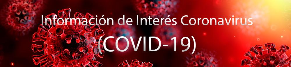 Información de interés coronavirus